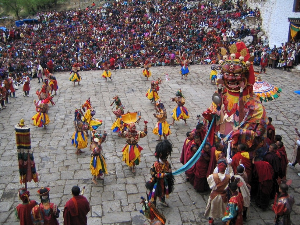The Spring Competition at Paro