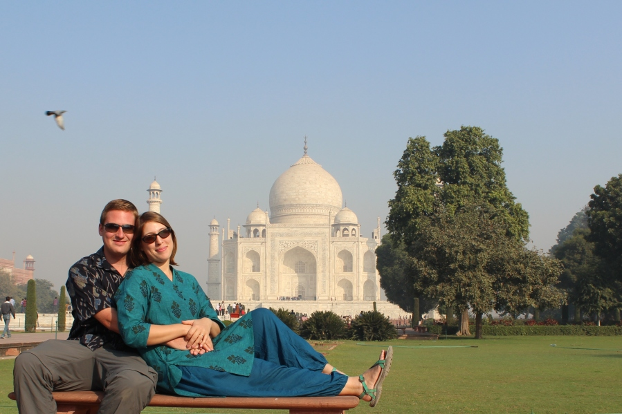 Taj Mhal with Love