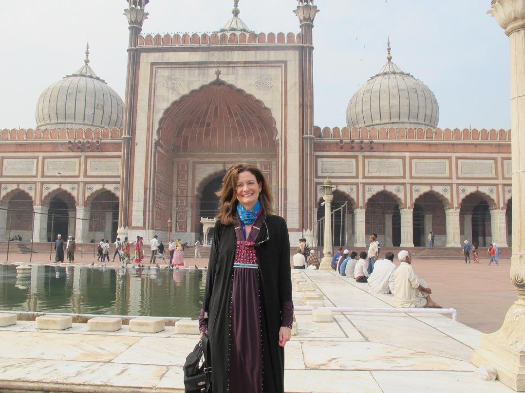 Reactions to Jama Masjid Delhi