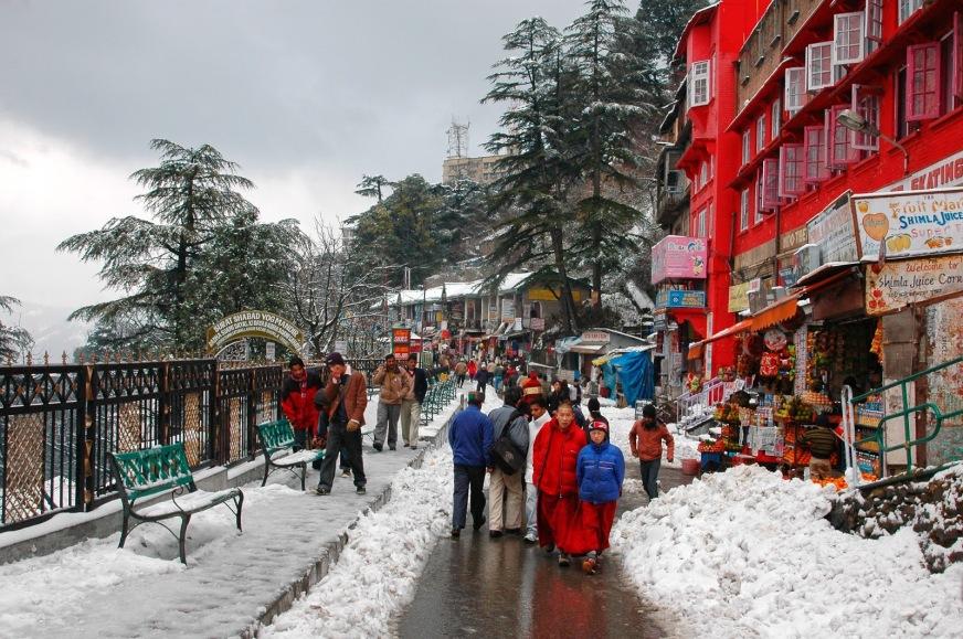 हिमाचल प्रदेश की जलवायु