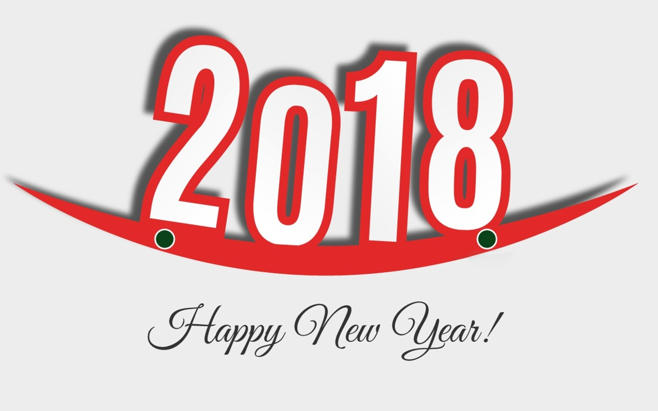 Happy New Year 2018 i