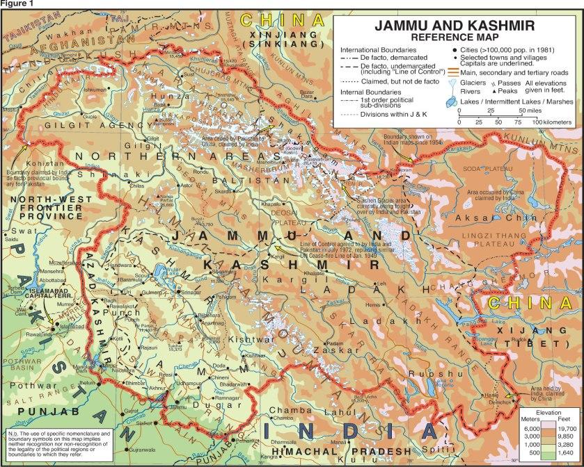 JAMMU & KASHMIR Road Map
