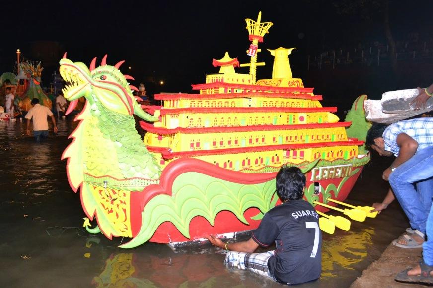 Tripurari Purnima Goa Boat festival
