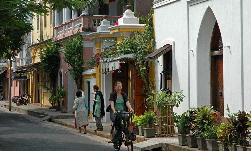 Pondicherry - Free living at the Ashram