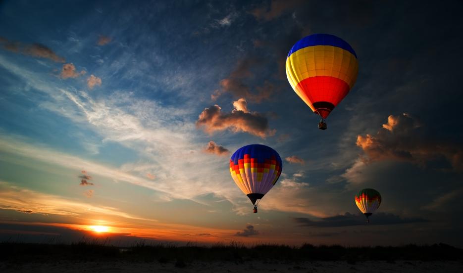 Hot Air Balloon Rides India Enjoy Ride Lifetime Sunshine