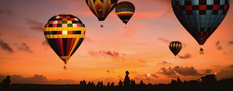 Hot Air Balloon Ride in Hampi, Karnataka