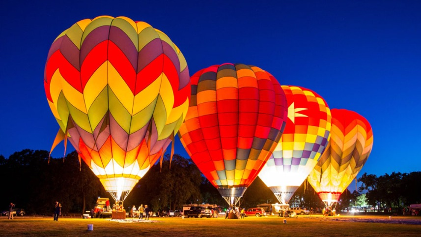 Hot Air Balloon Ride in Hampi