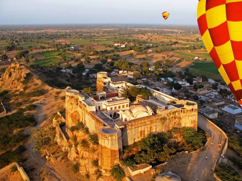 Hot Air Balloon Ride in Jaisalmer