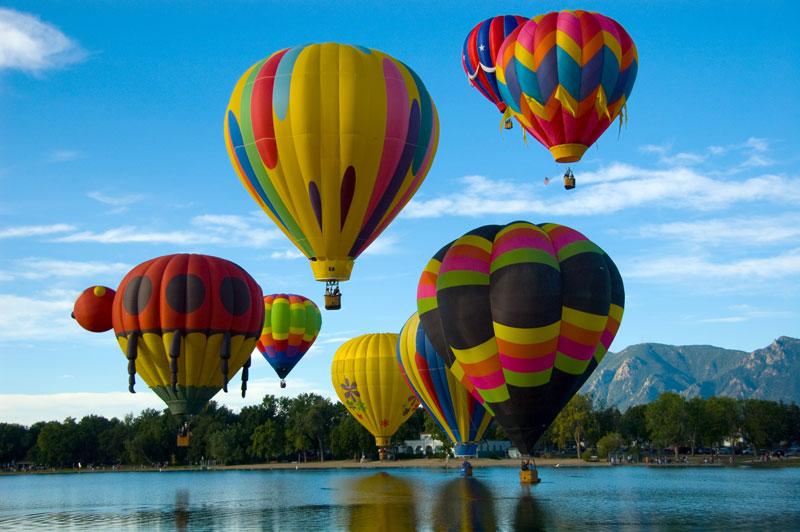 Hot Air Balloon Ride in Ranthambore