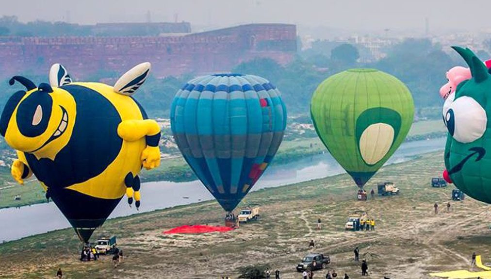 Hot Air Balloon Ride in Uttar Pradesh (U.P.)