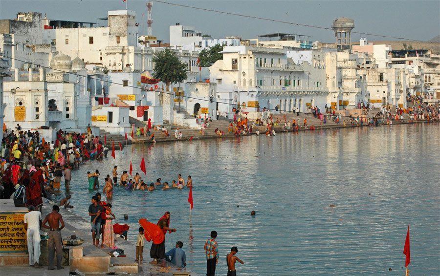 पुष्कर, Pushkar lake, rajasthan gk