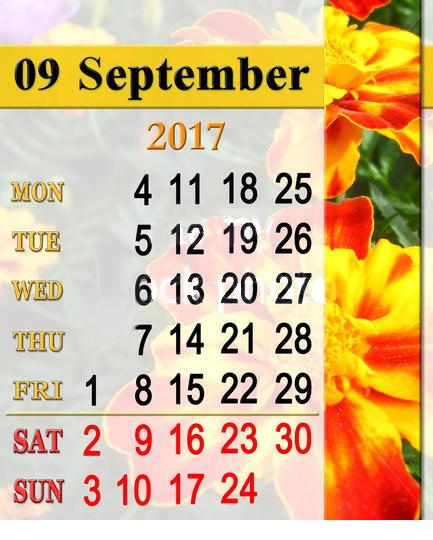 September Long Weekend 2017