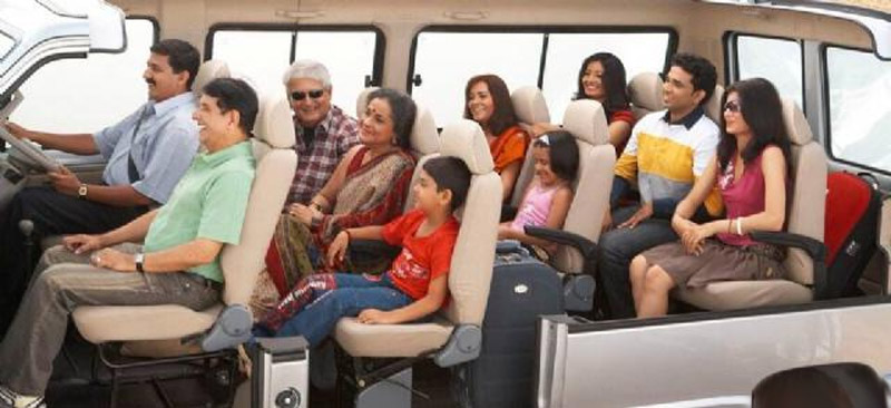 Hire Tempo Traveller online