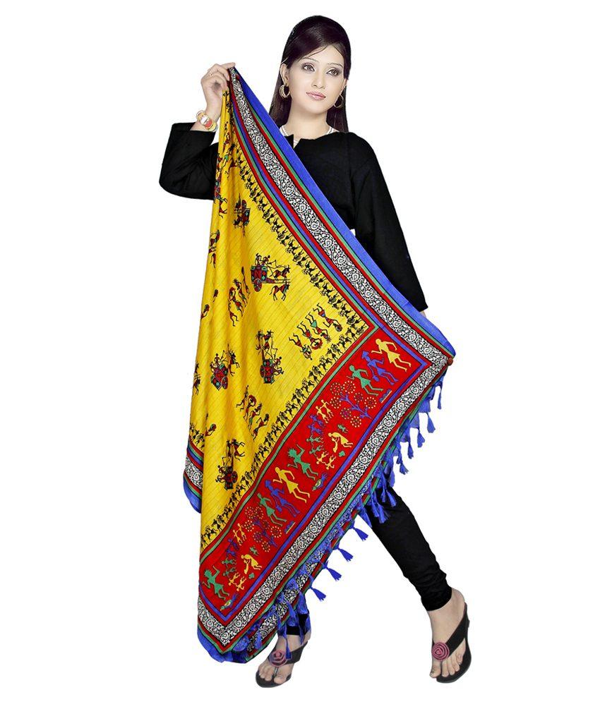 silk fabrics rajasthani print
