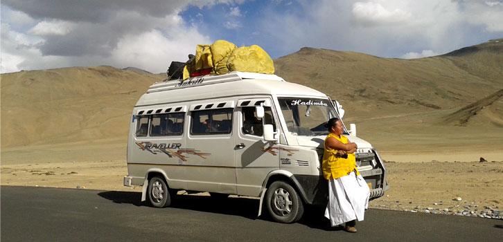 Tempo Travellers Manali