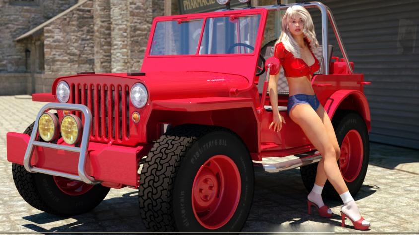 4x4 jeep tour through the Dubai desert