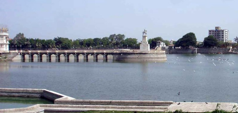 Bird lake Lakhota Jamnagar