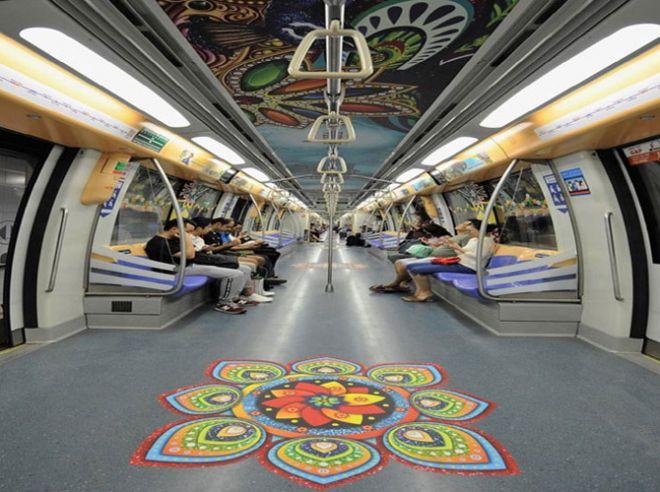 दिल्ली की मेट्रो यात्रा