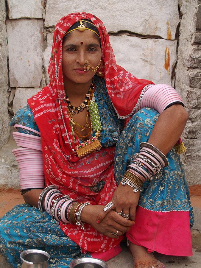 Rajasthani Lac Bangles jewelry