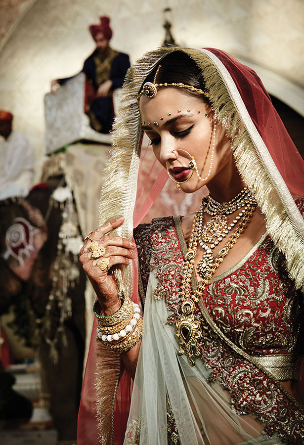 Rajasthani wedding jewelry