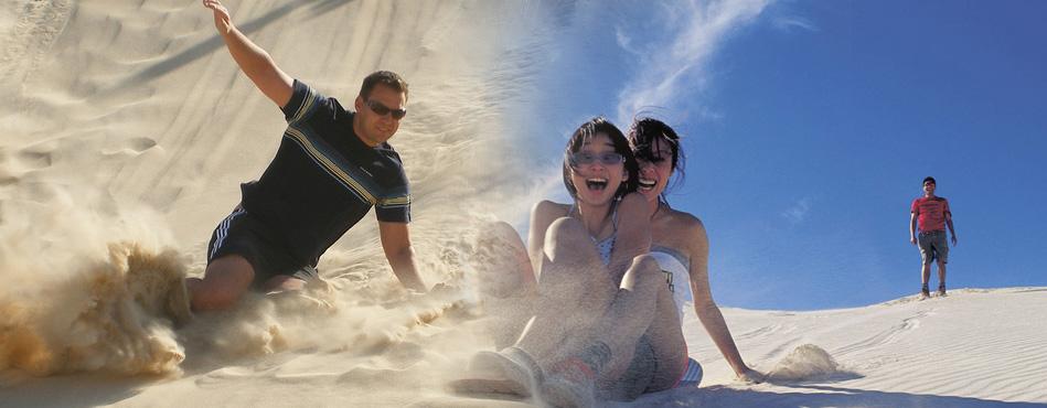 sand boarding dubai, sand skking, Desert Sand Skiing Dubai