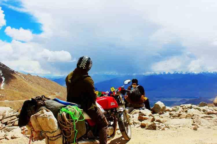 Bikes in Leh and Ladakh
