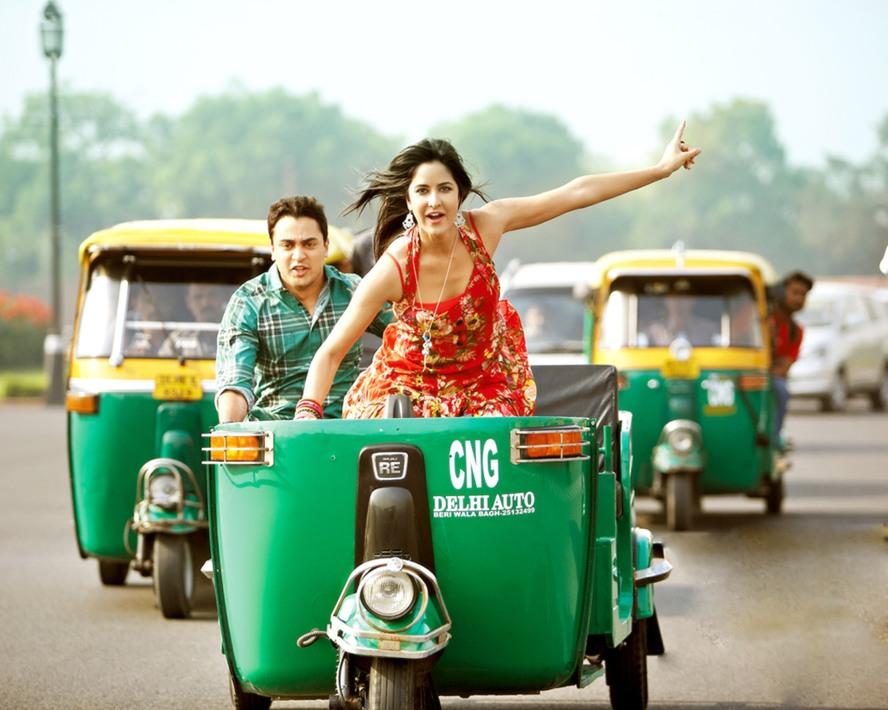 Auto Rickshaws in Delhi with girls