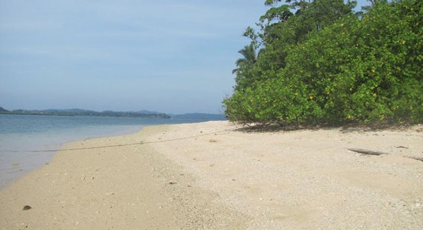 Avis Island Beach, Mayabunder