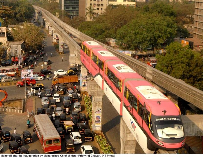 मुम्बई की परिवहन