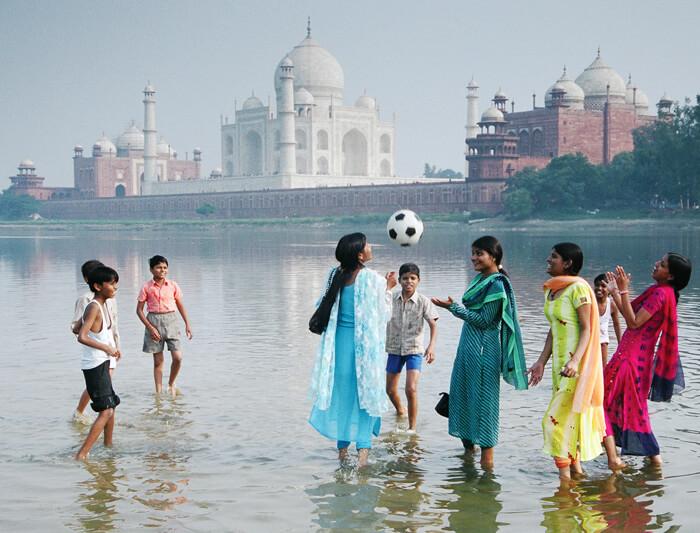 Taj mahal tour with family