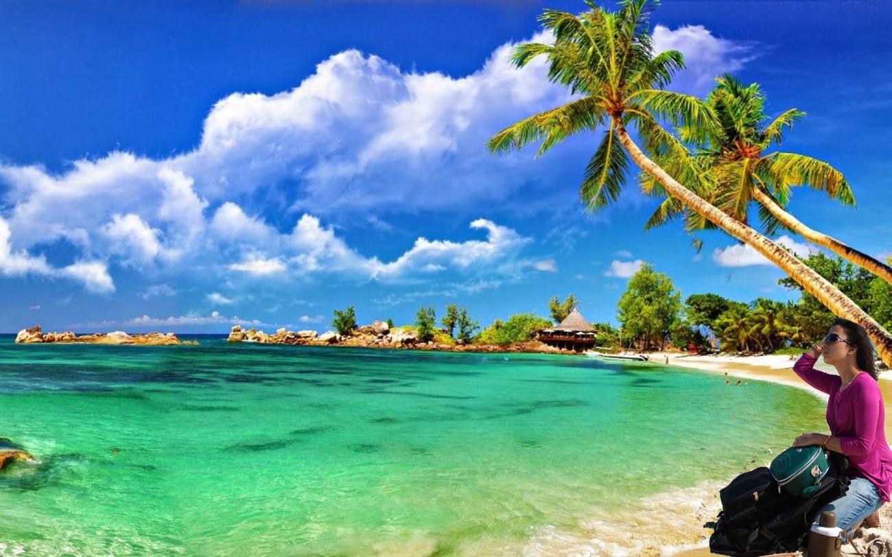 Ross island beach