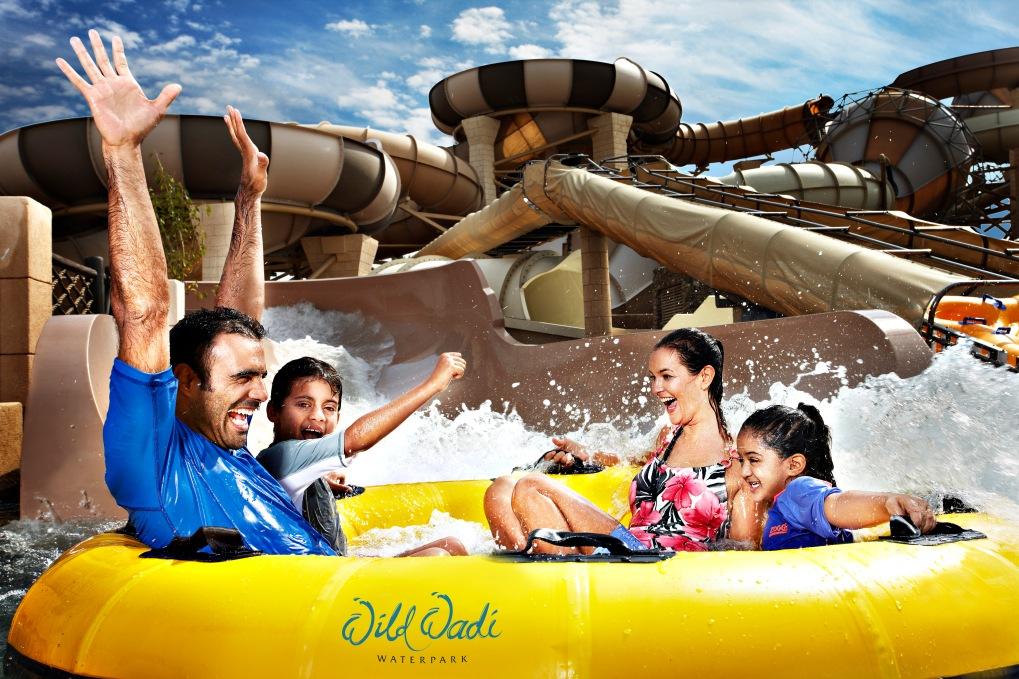 kids to Wild Wadi Waterpark